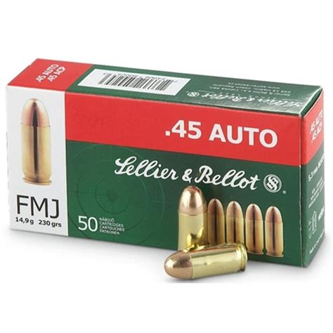 Sellier Bellot 45 Acp Ammo Review