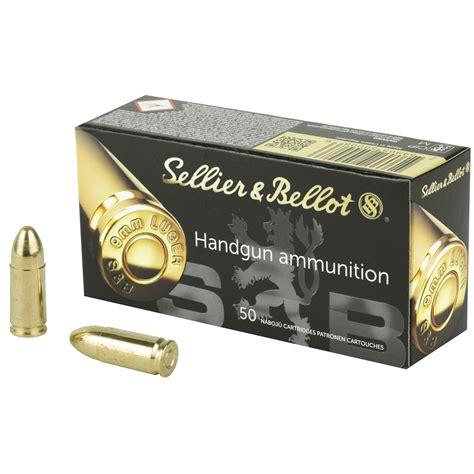 Sellier Bellot 9mm Luger 115gr Fmj Handgun Ammo