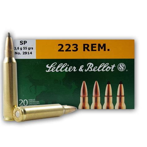 Sellier Bellot Primers For 223