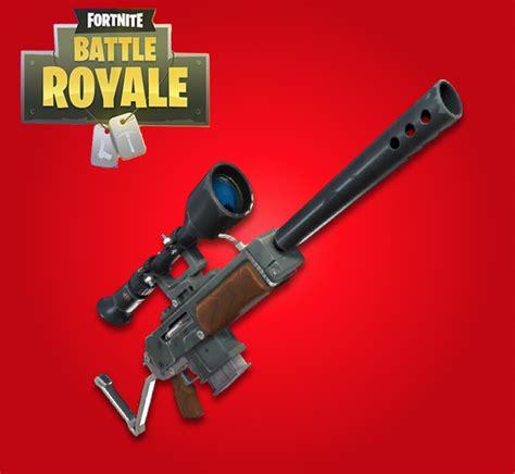 Semi Auto Sniper Rifle Fortnite Damage