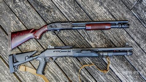 Semi Shotgun Vs Pump