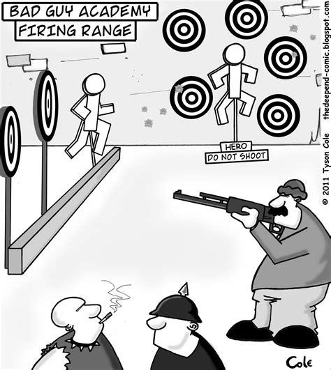 Sempertoons Com Rifle Range Cartoon