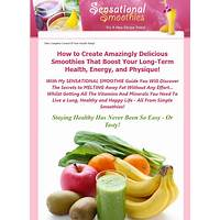 Cash back for sensational smoothies: drink your way to health deliciously