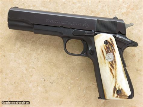Series 70 Government 5in 45 Acp Blue 8 1rd Colt