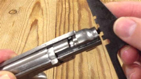 Setting Firing Pin Depth Mosin Nagant