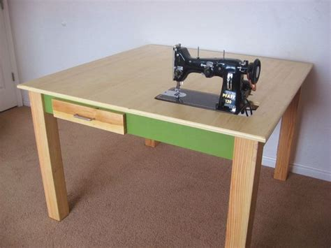 Sewing table plans design Image