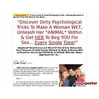 Sexual escalation secrets secret