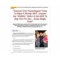 Sexual escalation secrets guide