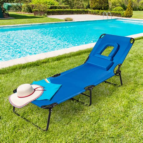 Shaffer Reclining and Folding Beach Chair