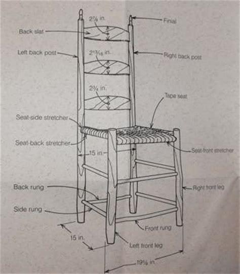 Shaker Ladder Back Chair Plans