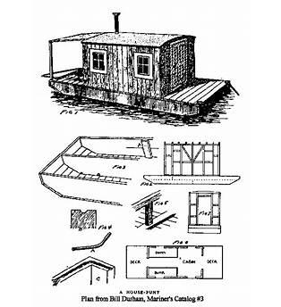 Shanty Boat Building Plans