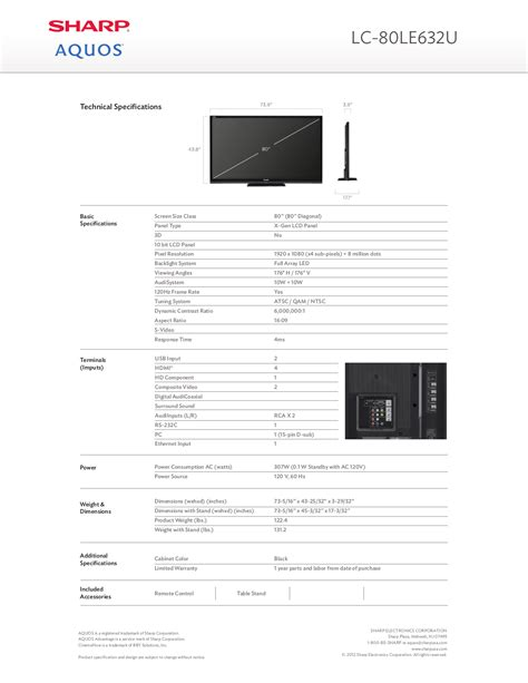 sharp aquos 46 lcd tv manual pdf manual