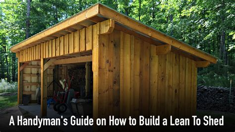 Shed building guide Image