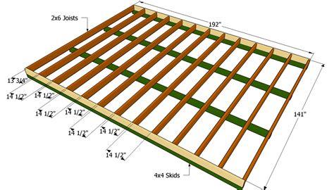 Shed floor plan Image
