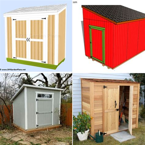 Shed lean to plans free Image