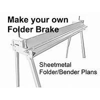 Sheet metal brake plans for your workshop discount code