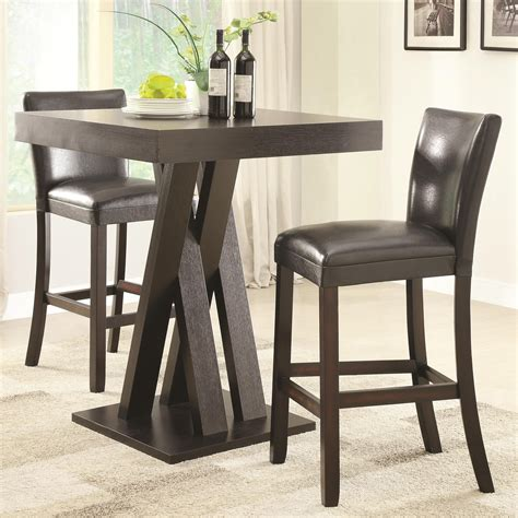Sheetz 3 Piece Counter Height Dining Set