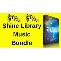 Shine library music bundle inexpensive