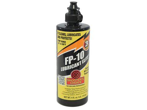 Shooter S Choice Fp10 Gun Lubricant Elite 4oz Liquid