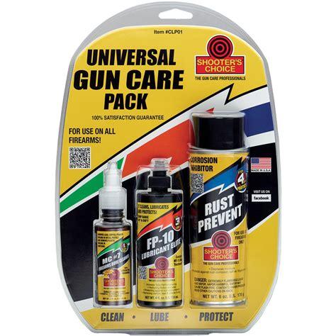Shooter S Choice Universal Gun Care Pack CLP01 27784123015