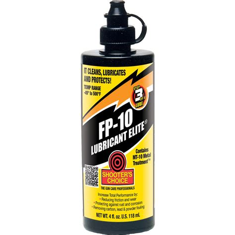 Shooters Choice Fp10 Lubricant Fp10 Lubricant 4 Oz