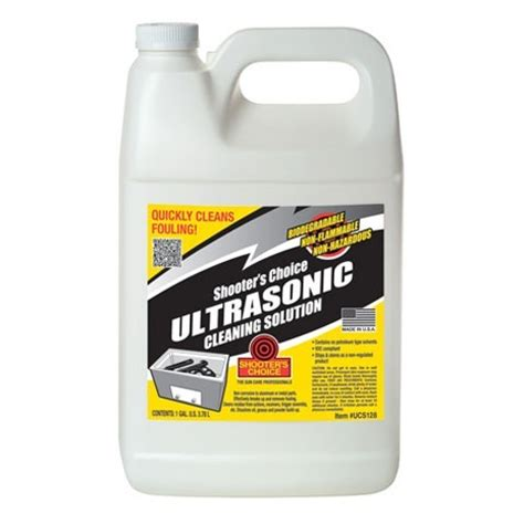 SHOOTERS CHOICE ULTRASONIC CLEANING SOLUTION Brownells