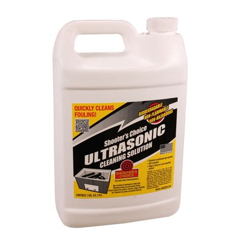 Shooters Choice Ultrasonic Cleaning Solution One Gallon