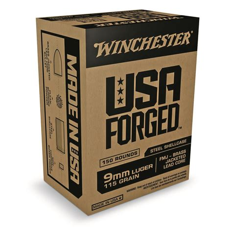 Shooting Review Winchester 9mm Luger 115 Grain FMJ Ammo