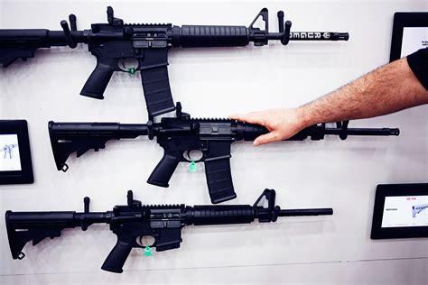 Shooting An Ar 15 Assault Rifle