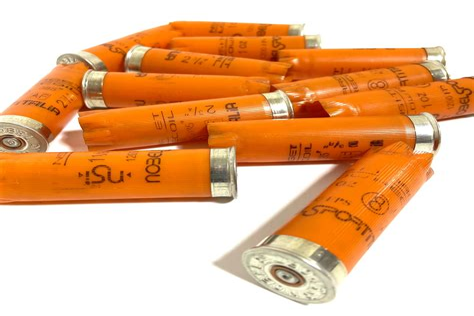 Shooting An Orange With A Shotgun