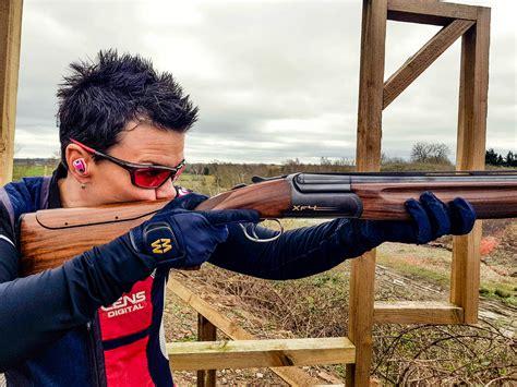 Shooting Clay Rifle And Texas Church Shooting Rifle