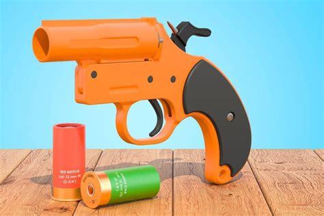 Shooting Flares Out Of Shotgun