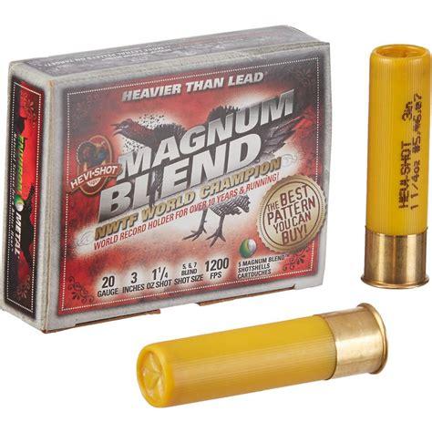 Shooting Magnum Shotgun Shells
