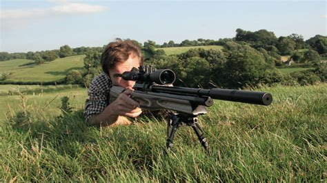 Shooting Rabbits With 22 Air Rifle