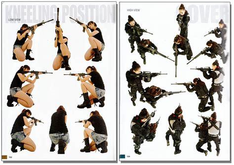 Shooting Rifle Pose
