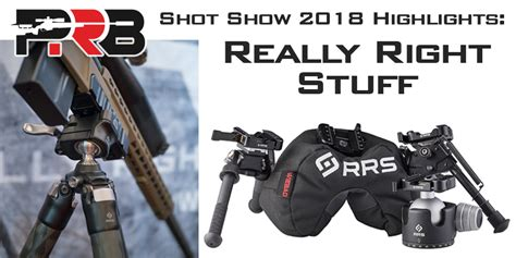 SHOT Show 2018 Really Right Stuff S New Products