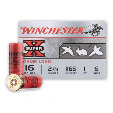 Shotgun 16 Gauge 6 Shot Shells