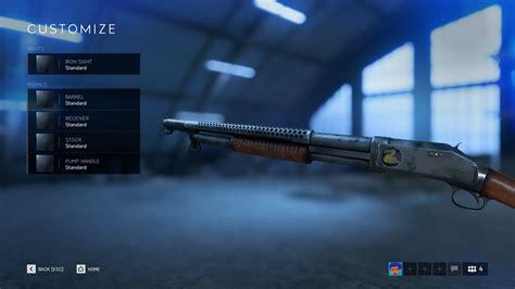 Shotgun Bfv With Rifle