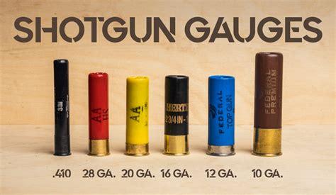 Shotgun Gauge Shooting Maryland