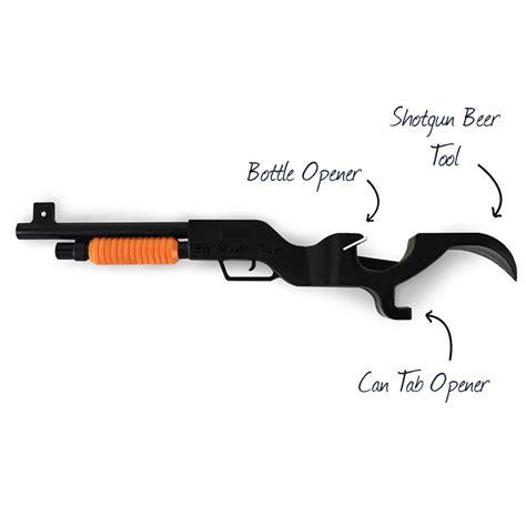 Shotgun Party Beer Can Opener