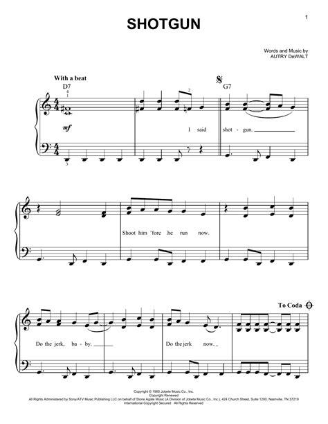 Shotgun Piano Music And Shotgun Rider Ringtone