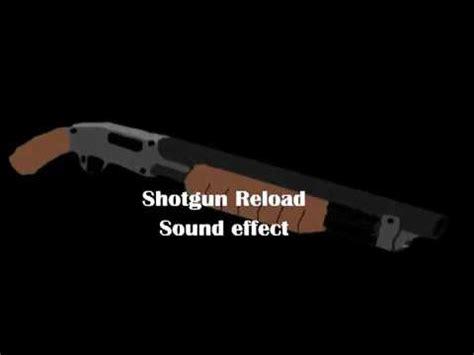 Shotgun Reload Sound Effect Download