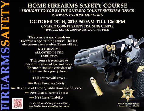 Shotgun Safety Class