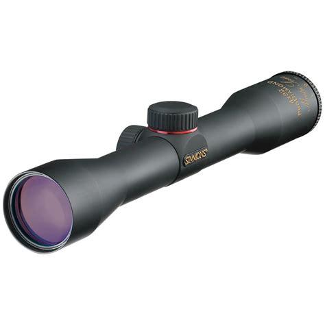 Shotgun Scope On A Rifle