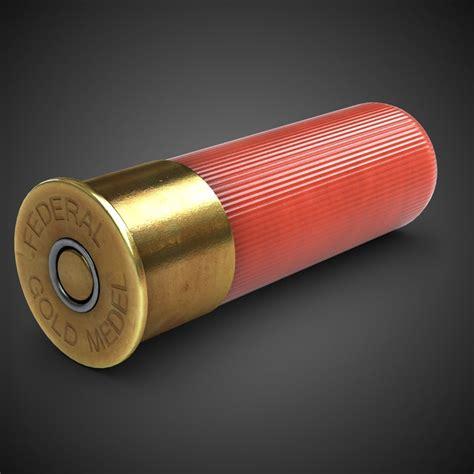 Shotgun Shell 3d Model Free
