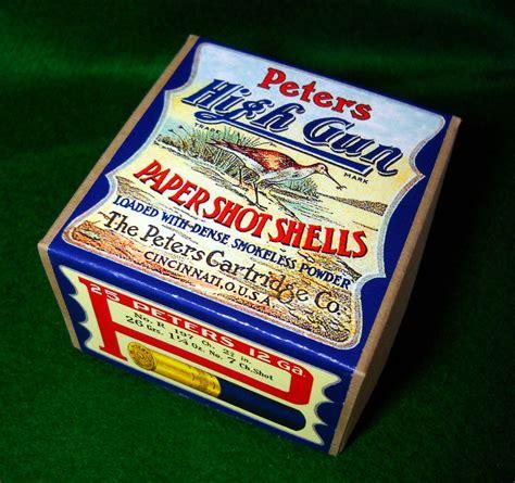 Shotgun Shell Box Labels