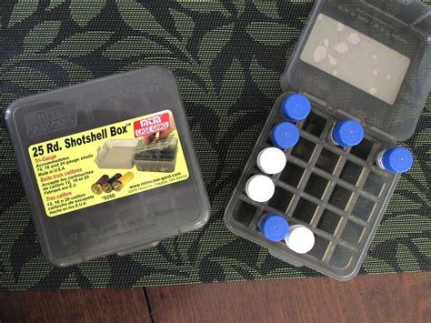 Shotgun Shell Case For Ink Sample Vials