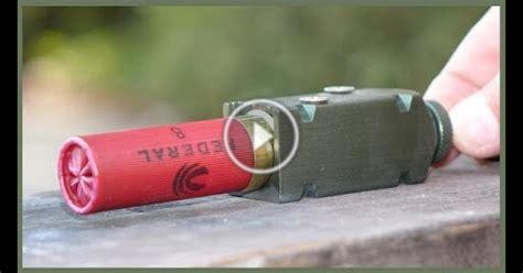 Shotgun Shell Exploding OUTSIDE A Gun - What Happens