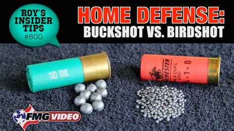 Shotgun Shells Buckshot Vs Birdshot