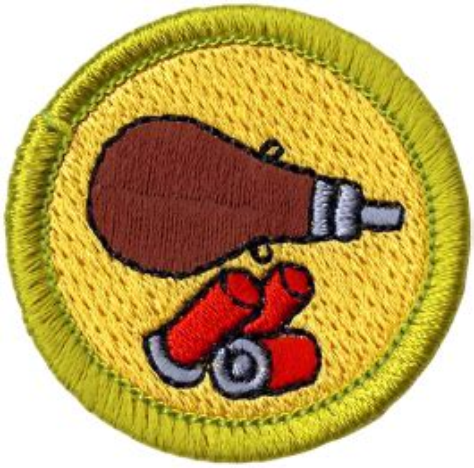 Shotgun Shooting Merit Badge F Arm G Irl